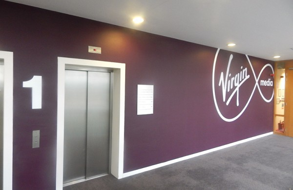 1st Floor Wall Graphic
