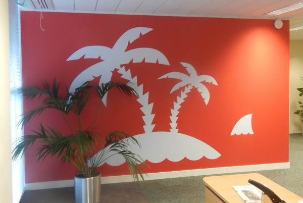 2Office Wall Graphic