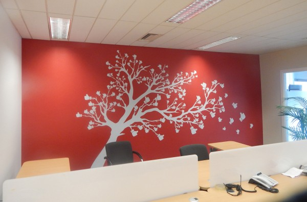 3Office Wall Graphic