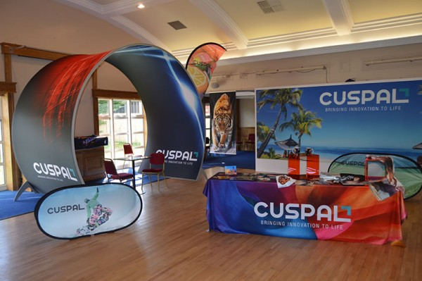 Trade Show that Cuspal Hosted in 2015 that featured all of the new fabric printing solutions available