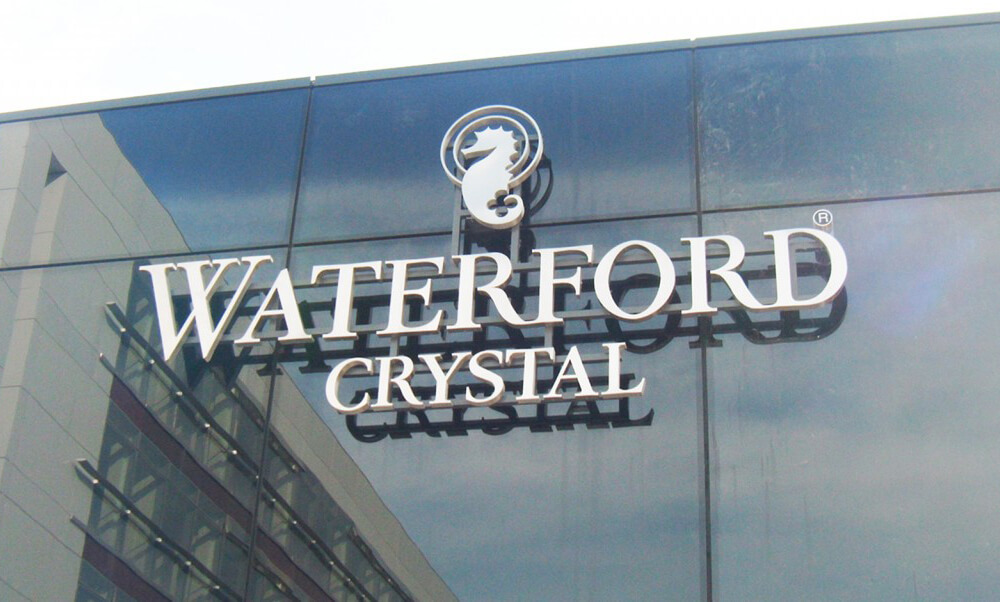 Built Up Letter Signs - Waterford Crystal