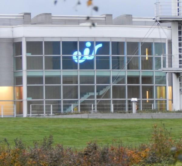 Citywest Acrylic Built-up LED Sign Blue