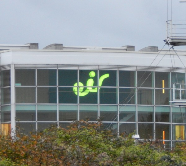 Citywest Acrylic Built-up LED Sign Green