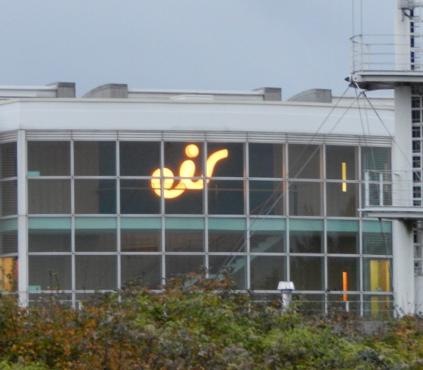 Citywest Acrylic Built-up LED Sign Yellow