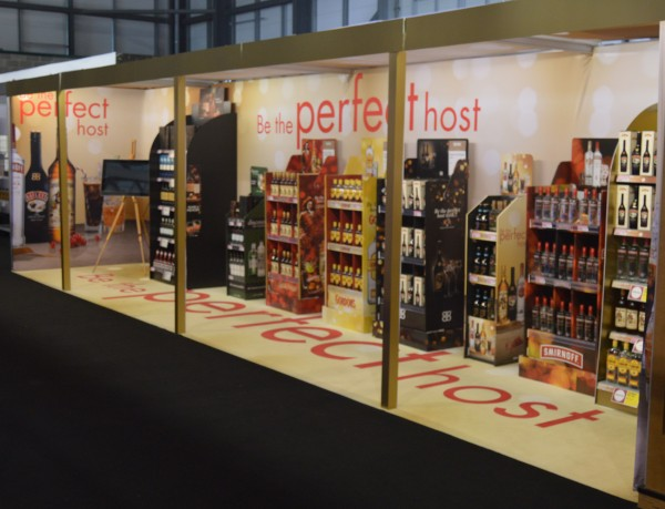 Diageo Fabric Exhibition Stand1
