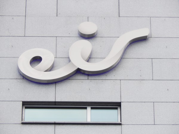 Eir HSQ Built-up Sign