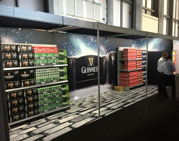 Guinness Fabric Exhibition Stand