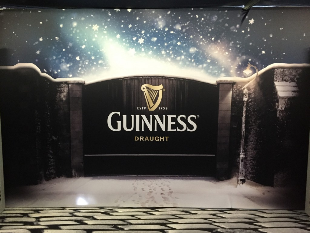 Exhibition Stand Printing : Diageo trade show cuspal