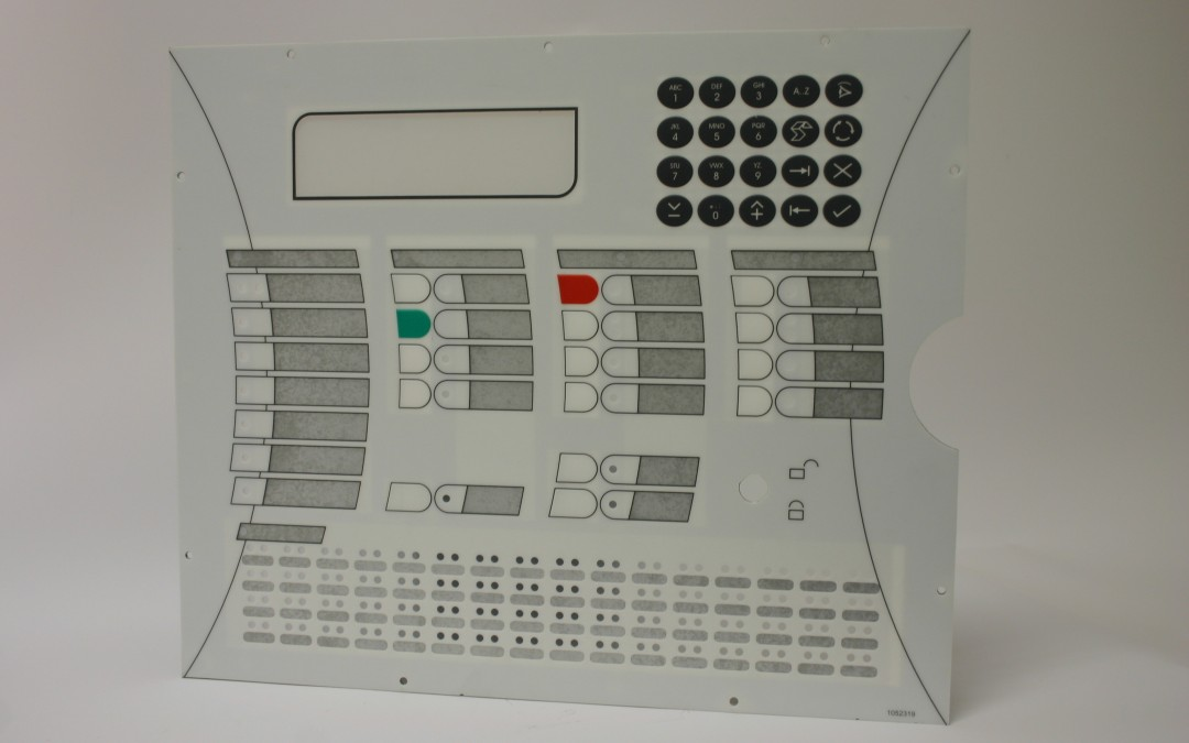 Labels-Control Panel-Overlays-Computer panels-Information Boards-Embossed LAbels