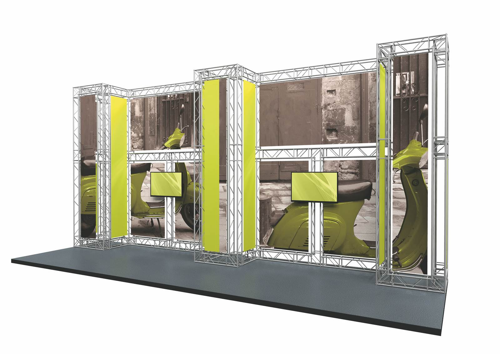 Modular Exhibition Stands Out : Exhibitions cuspal