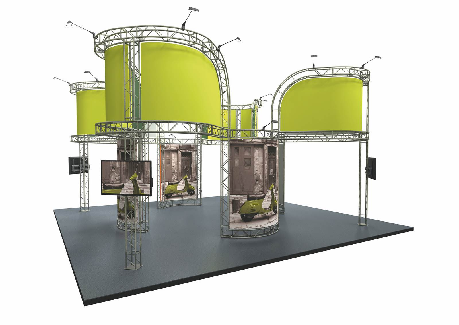 Modular Exhibition Stand Out : Exhibitions cuspal