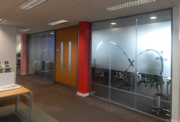 Office Frosted Vinyl