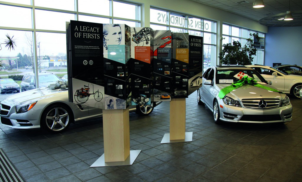 Chromaluxe Photo Panel - Mercedes Display