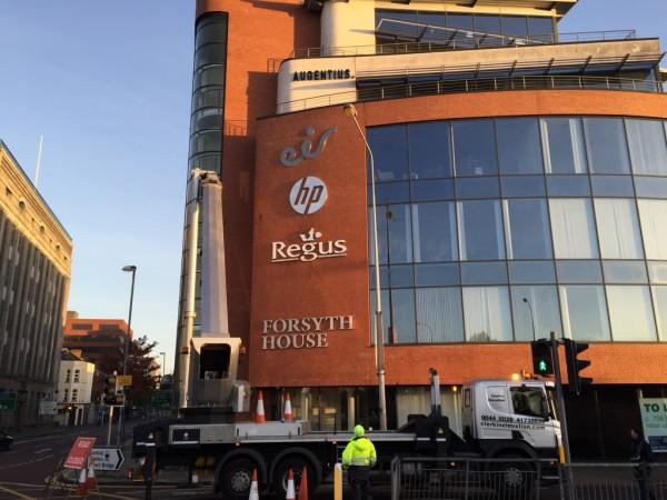 eir Belfast Built-up Sign