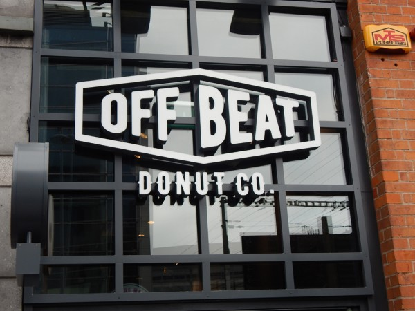 Offbeat Donuts Signage Project