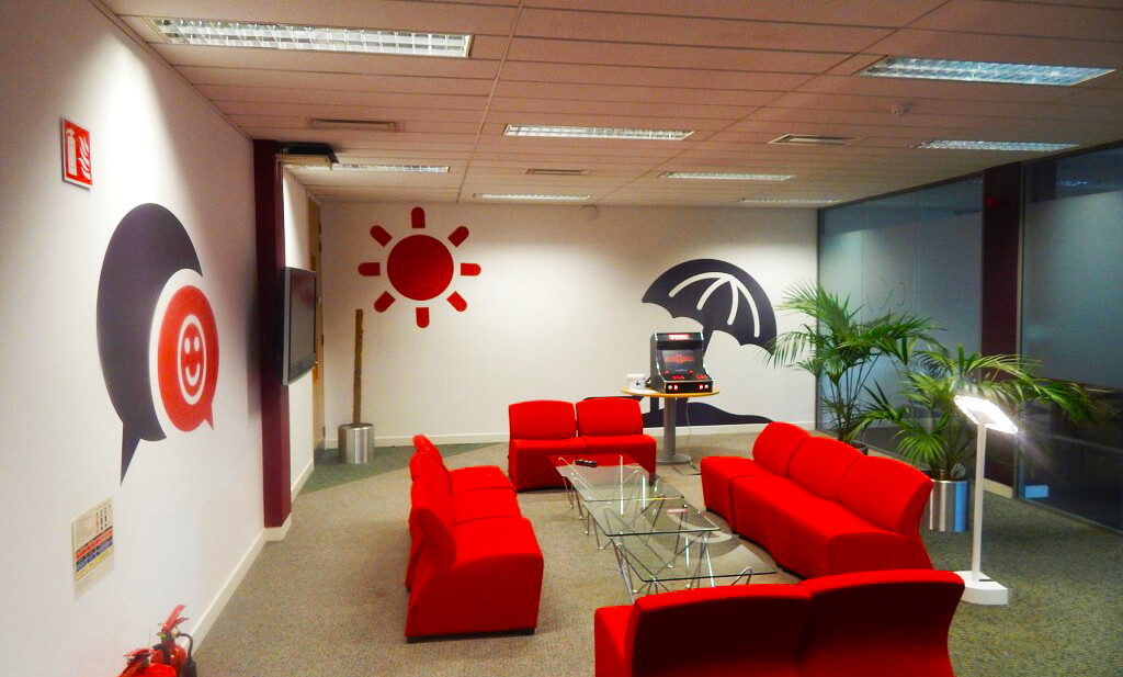 Wall Graphic Office - Virgin Media
